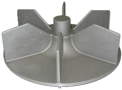 04 Gedeelte van een turbine   Aluminiumgieterij Declercq