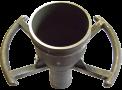 08 Koppeling voor luchtpistool    Aluminiumgieterij Declercq