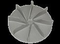 03 Gedeelte van een turbine Gietwerk | Aluminiumgieterij Declercq