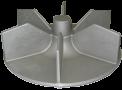 04 Gedeelte van een turbine | Aluminiumgieterij Declercq